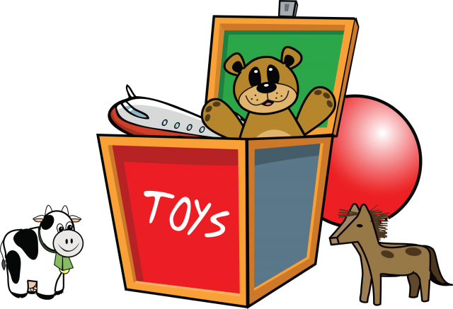 Toy Box Clip Art : The in home pediatric physical therapist s toolbox