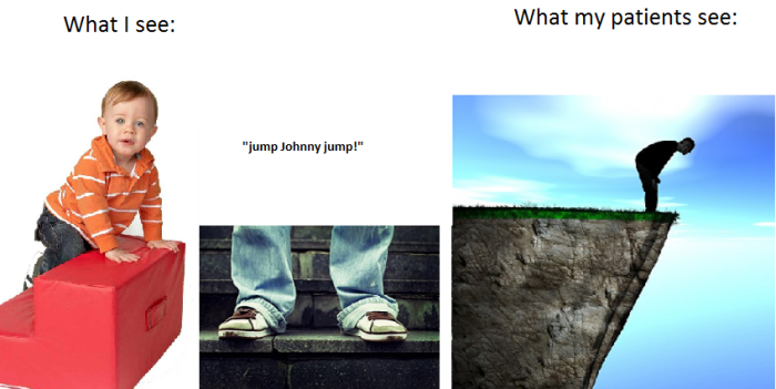 what i see jumping
